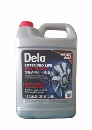 Антифриз готовый к прим. красный CHEVRON Delo 50/50 Extended Life Antifreeze/Coolant (3,785л)
