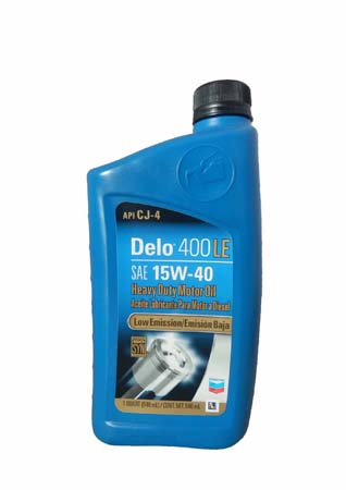 Моторное масло CHEVRON Delo 400 LE SAE 15W-40 (0,946л)