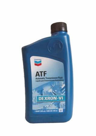 Трансмиссионное масло CHEVRON ATF DEXRON VI (0,946л)