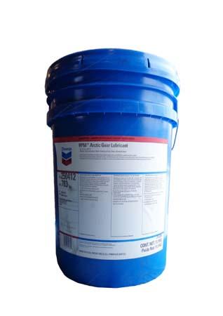 Трансмиссионное масло CHEVRON RPM Arctic Gear Lubricant (15,9кг)