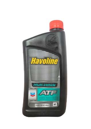 Трансмиссионное масло CHEVRON Havoline ATF Multi-Vehicle (0,946л)