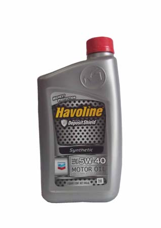 Моторное масло CHEVRON Havoline Synthetic Motor Oil SAE 5W-40 (0.946л)
