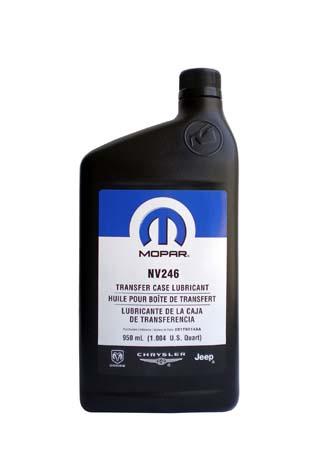 Трансмиссионное масло MOPAR Transfer Case Lubricant NV 246 (0,946л)