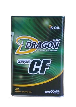Моторное масло DRAGON Super CF SAE 10W-30 (4л)