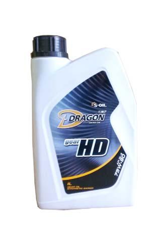 Трансмиссионное масло DRAGON Gear HD SAE 75W-90 (1л)