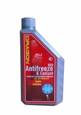 Антифриз готовый к прим. красный DRAGON Red Antifreeze&Coolant -50*C (1л)
