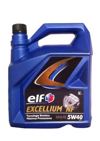 Моторное масло ELF Excellium NF SAE 5W-40 (5л)