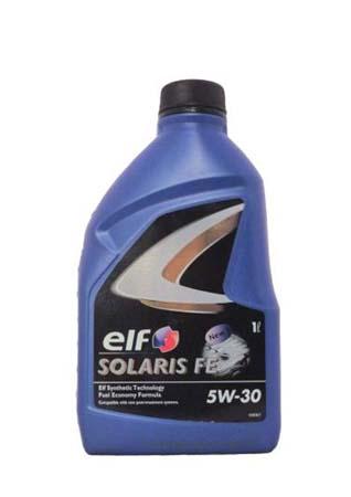 Моторное масло ELF Solaris FE SAE 5W-30 (1л)