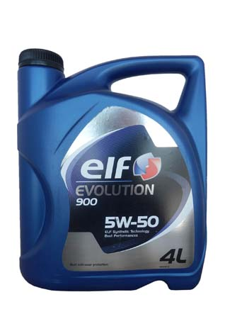 Моторное масло ELF Evolution 900, 5W-50, 4л, 194830