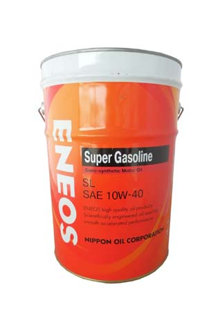 Моторное масло ENEOS Super Gasoline SAE 10W-40 (20л)