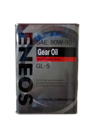Трансмиссионное масло ENEOS Gear Oil GL-5 SAE 80W-90 (4л)