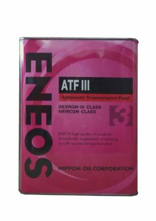 Трансмиссионное масло ENEOS ATF III (4л)