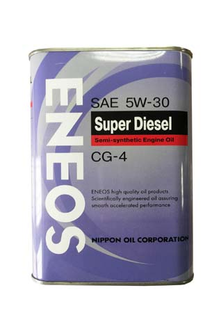 Моторное масло ENEOS Super Diesel Semi-Synthetic SAE 5W-30 (1л)