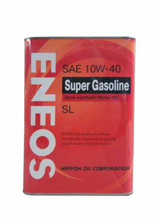 Моторное масло ENEOS Super Gasoline SAE 10W-40 (4л)