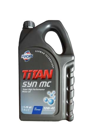 Моторное масло FUCHS Titan SYN MC SAE 10W-40 (5л)