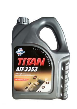 Трансмиссионное масло FUCHS Titan ATF 3353 (4л)