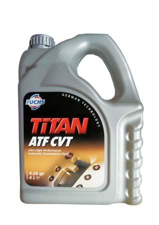 Трансмиссионное масло FUCHS Titan ATF CVT (4л)