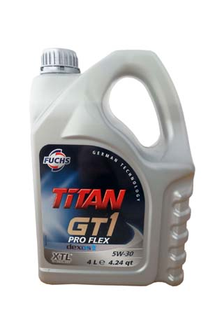 Моторное масло FUCHS Titan GT1 Pro Flex SAE 5W-30 (4л)