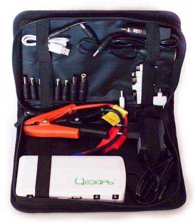 Мини пуско-зарядное устройство G-STAR12, 12000мAч, 160х75х28, 340 г.