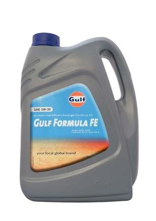 Моторное масло GULF Formula FE SAE 5W-30 (5л)