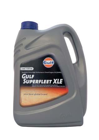 Моторное масло GULF Superfleet XLE SAE 10W-40 (5л)