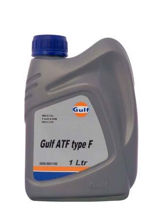 Трансмиссионное масло GULF ATF Type F (1л)