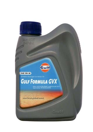 Моторное масло GULF Formula GVX SAE 5W-30 (1л)