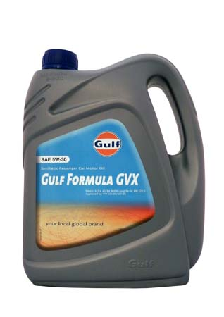 Моторное масло GULF Formula GVX SAE 5W-30 (4л)