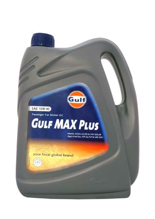 Моторное масло GULF Max Plus SAE 15W-40 (4л)