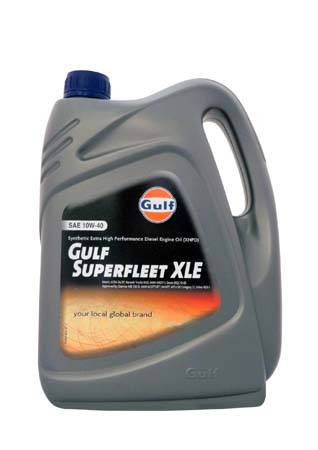 Моторное масло GULF Superfleet XLE SAE 10W-40 (4л)