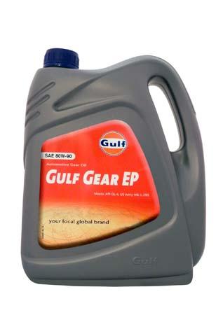 Трансмиссионное масло GULF Gear EP SAE 80W-90 (4л)