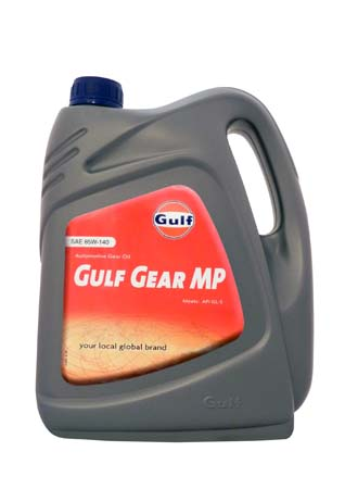 Трансмиссионное масло GULF Gear MP SAE 85W-140 (4л)