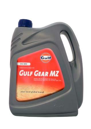 Трансмиссионное масло GULF Gear MZ SAE 80W (4л)