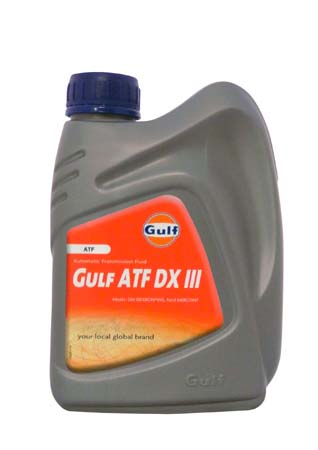 Трансмиссионное масло GULF ATF DX III (1л)