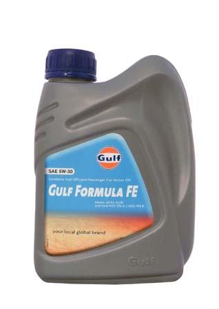 Моторное масло GULF Formula FE SAE 5W-30 (1л)