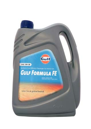Моторное масло GULF Formula FE SAE 5W-30 (4л)