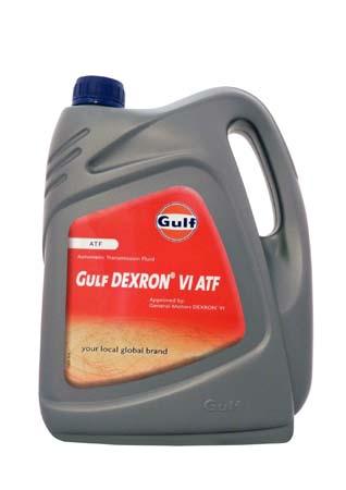 Трансмиссионное масло GULF DEXRON VI ATF (4л)