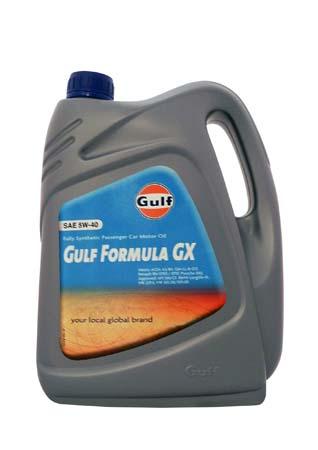 Моторное масло GULF Formula GX SAE 5W-40 (4л)