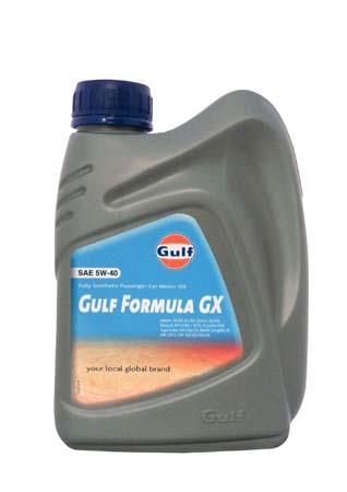 Моторное масло GULF Formula GX SAE 5W-40 (1л)