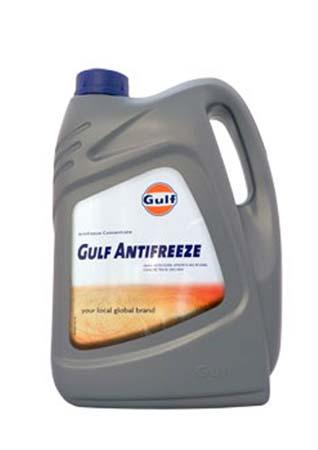 Антифриз концентрированный синий GULF Antifreeze (5л)