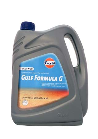 Моторное масло GULF Formula G SAE 5W-30 (4л)