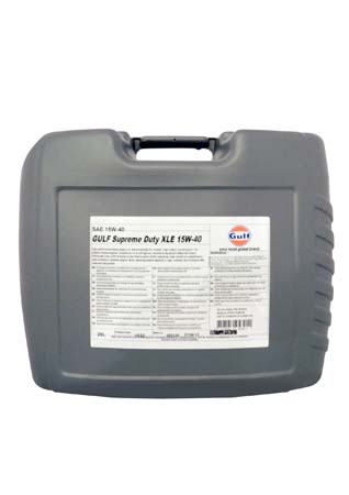 Моторное масло GULF Supreme Duty XLE SAE 15W-40 (20л)