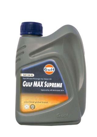 Моторное масло GULF Max Supreme SAE 5W-30 (1л)