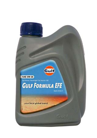 Моторное масло GULF Formula EFE SAE 5W-30 (1л)