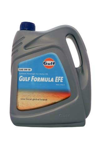 Моторное масло GULF Formula EFE SAE 5W-30 (4л)