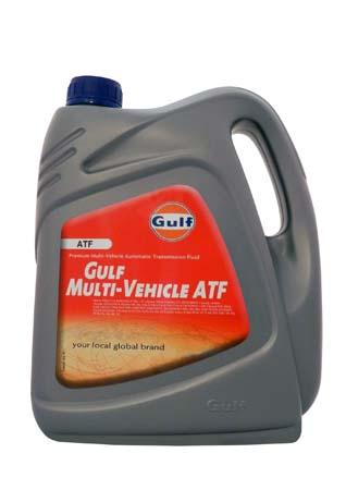 Трансмиссионное масло GULF Multi-Vehicle ATF (4л)