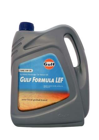Моторное масло GULF Formula LEF SAE 5W-30 (4л)