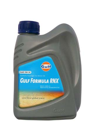 Моторное масло GULF Formula RNX SAE 5W-30 (1л)