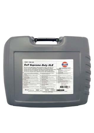 Моторное масло GULF Supreme Duty XLE SAE 10W-30 (20л)