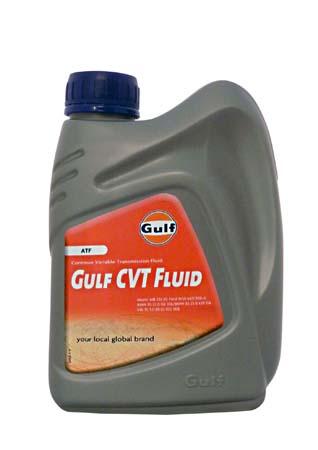 Трансмиссионное масло GULF CVT Fluid (1л)